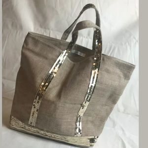 Vanessa Bruno tote From France Paris Sequin NEW